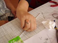 výroba drátkovaných šperků
