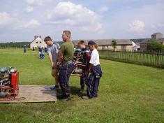 Setkání hasičů Sedmihoří dne 16.7.2005