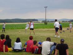 Pouťový turnaj v malé kopané (2.7.2005)